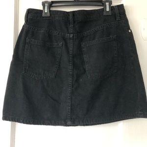 H&M Skirts - H&M Black Denim Mini Skirt